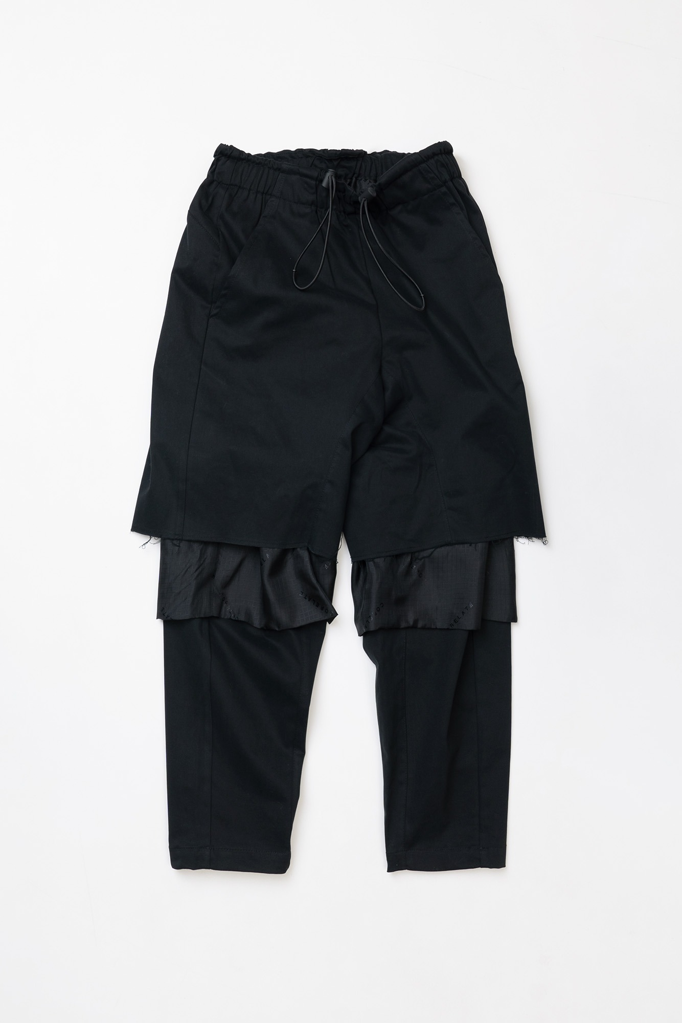 "CORELATE Knee but trousers ""Black"""