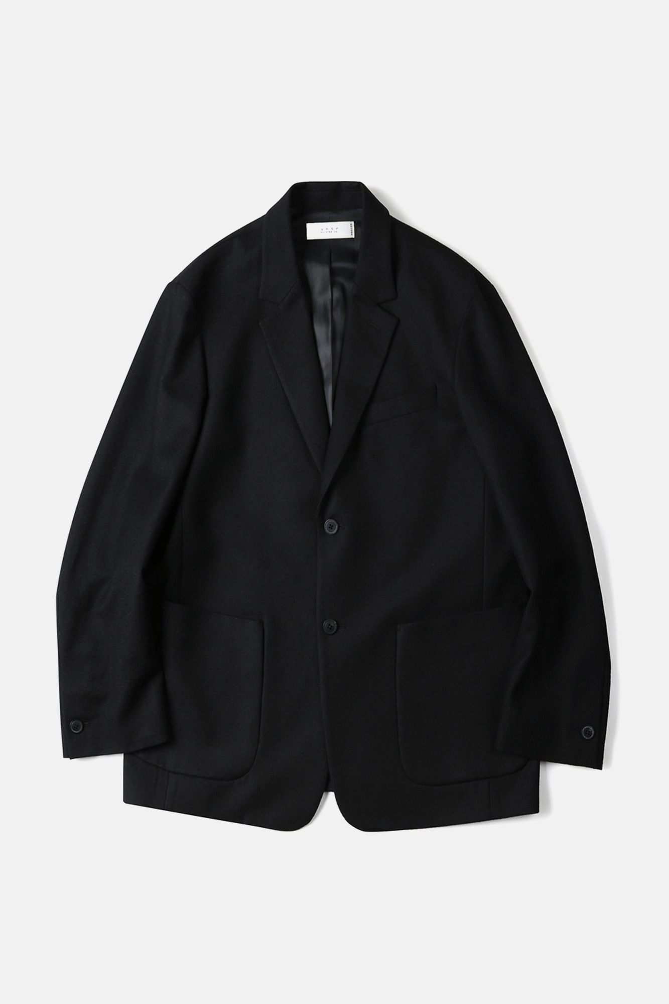 "SHIRTER Pure Wool Jacket ""Black"""