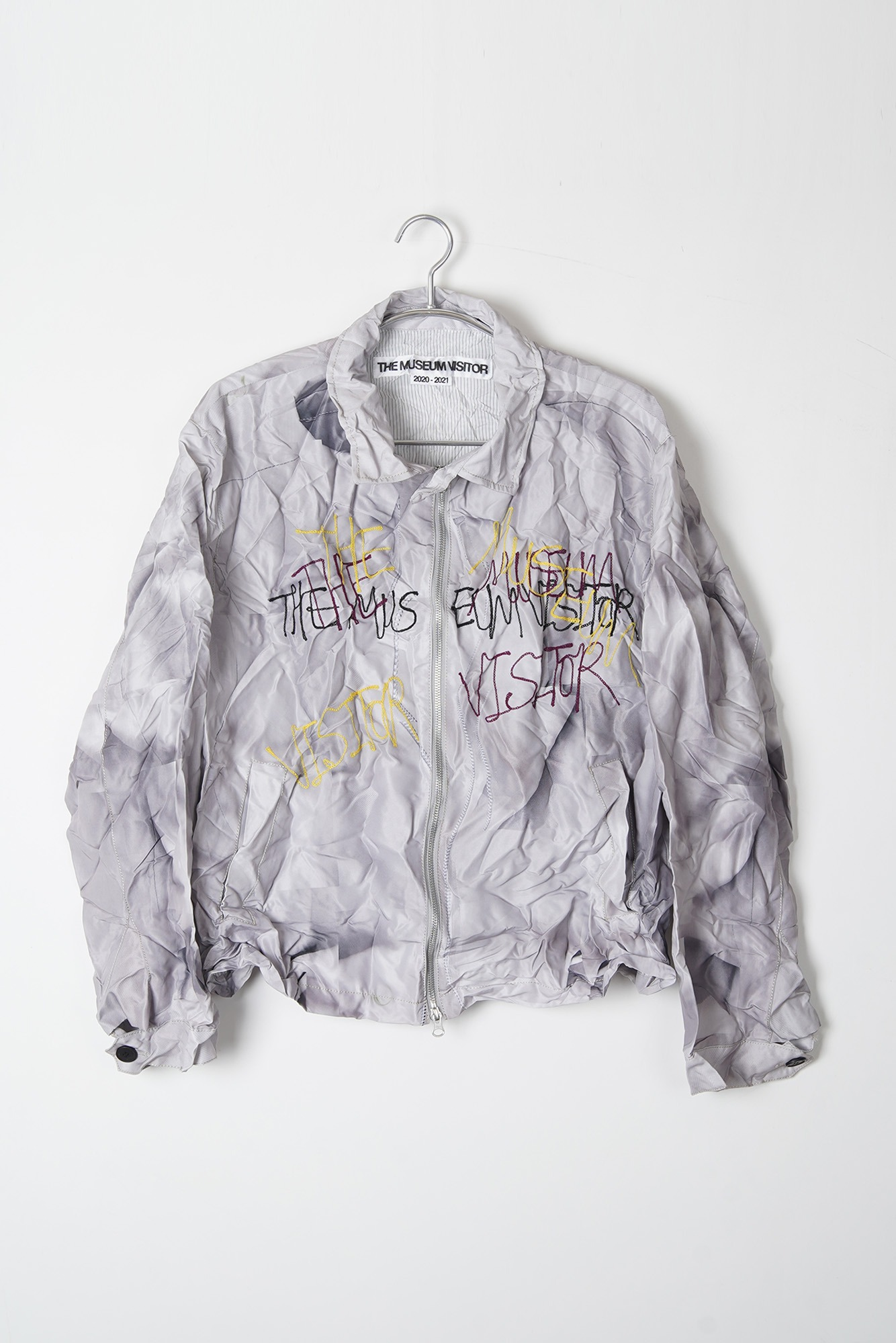 THE MUSEUM VISITOR Twill Printed Jacket