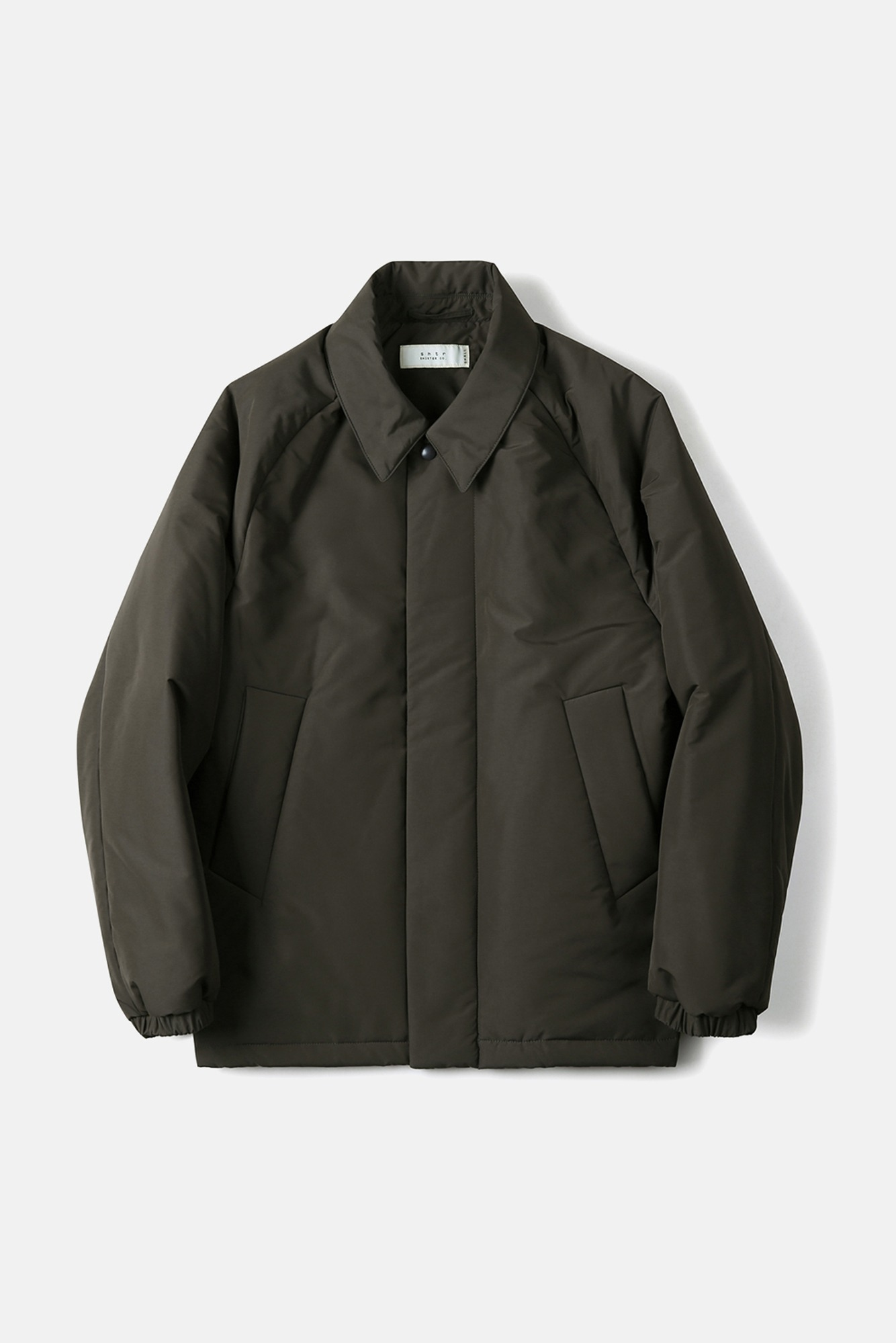 "SHIRTER 3M Thinsulate Bal Collar Jacket ""Dark Brown"""