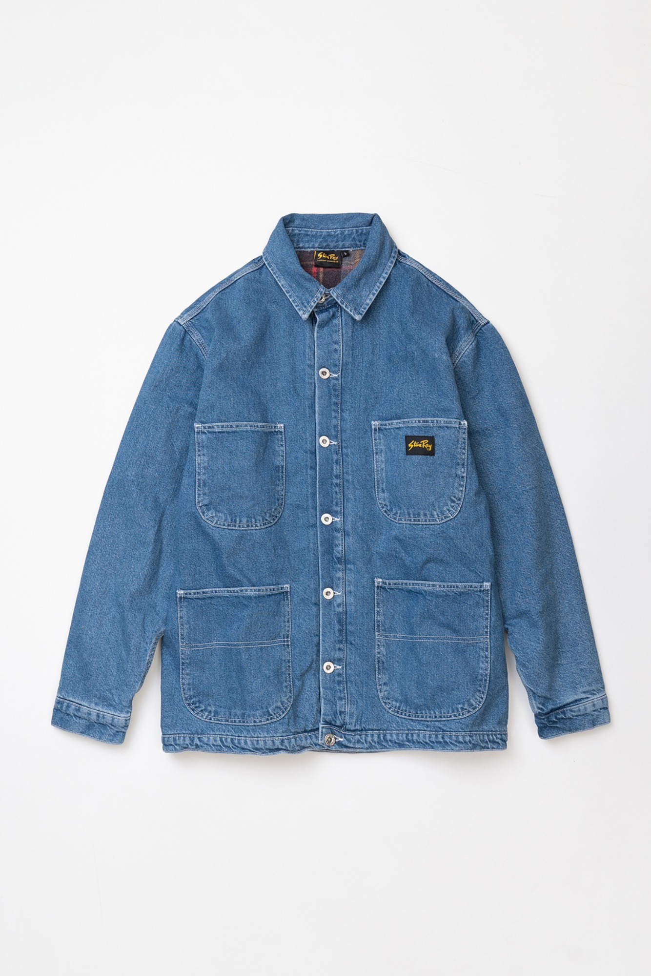 "STAN RAY Lined Barn Coat ""Vintage Stonewash"""
