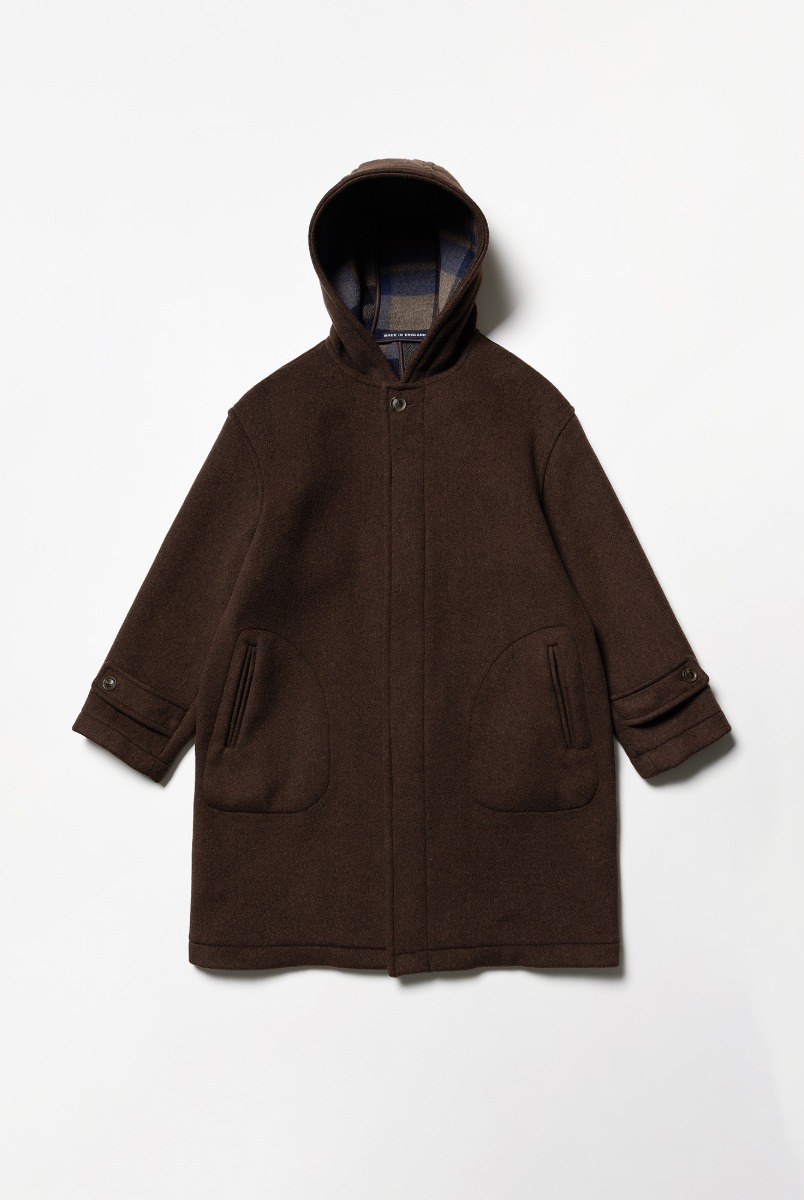 "LONDON TRADITION Seaton Mens Oversize Coat ""Hickory"""