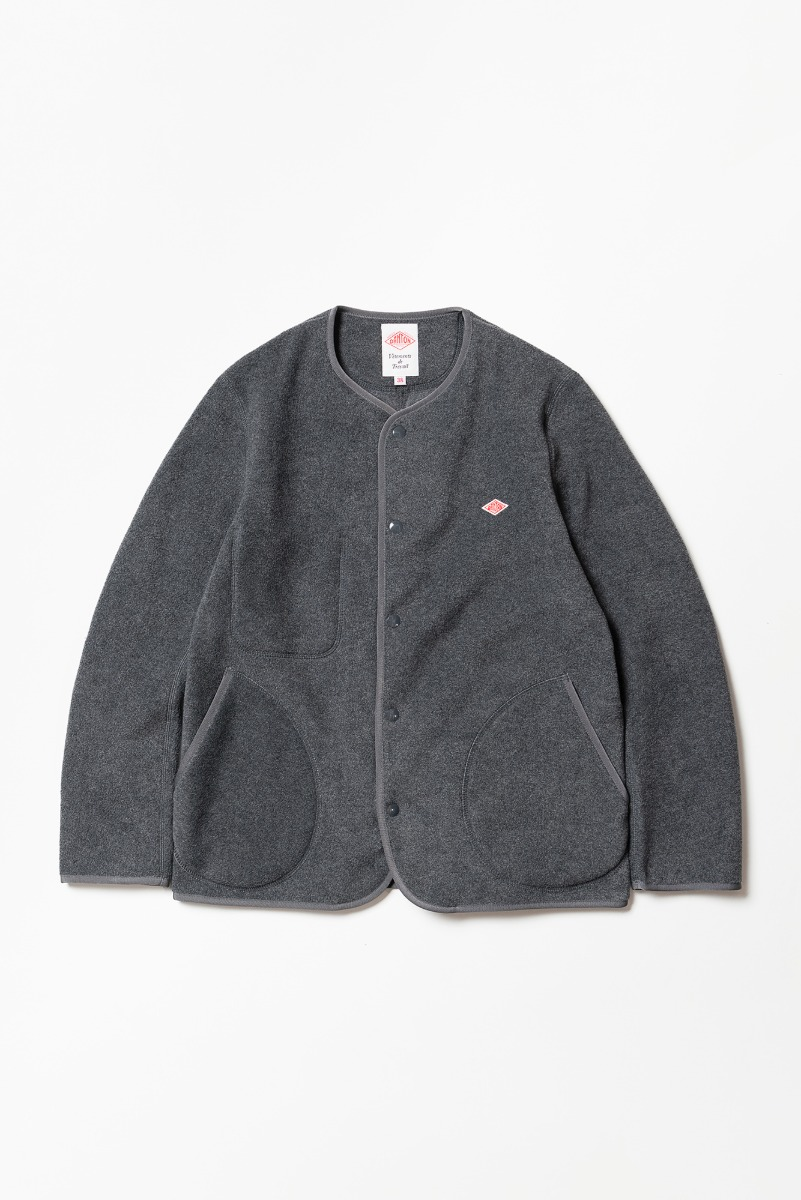 "DANTON Fleece Jacket ""H.Grey"""