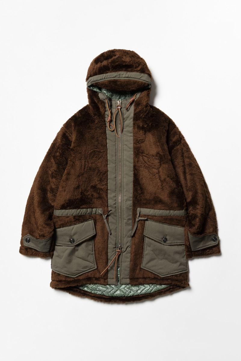 "MONITALY Kodiac Fur Coat ""Brown"""