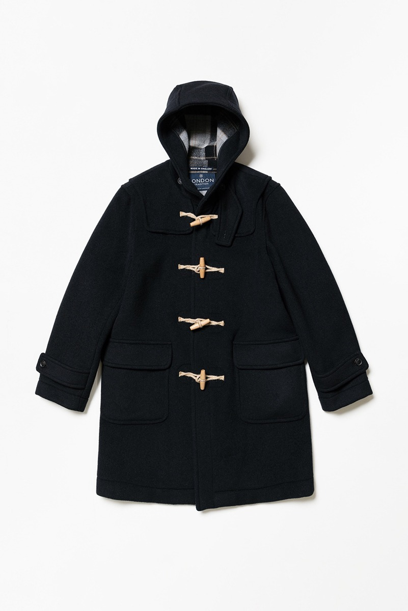 "LONDON TRADITION Mens Erica Duffle Coat ""Navy SBB"""