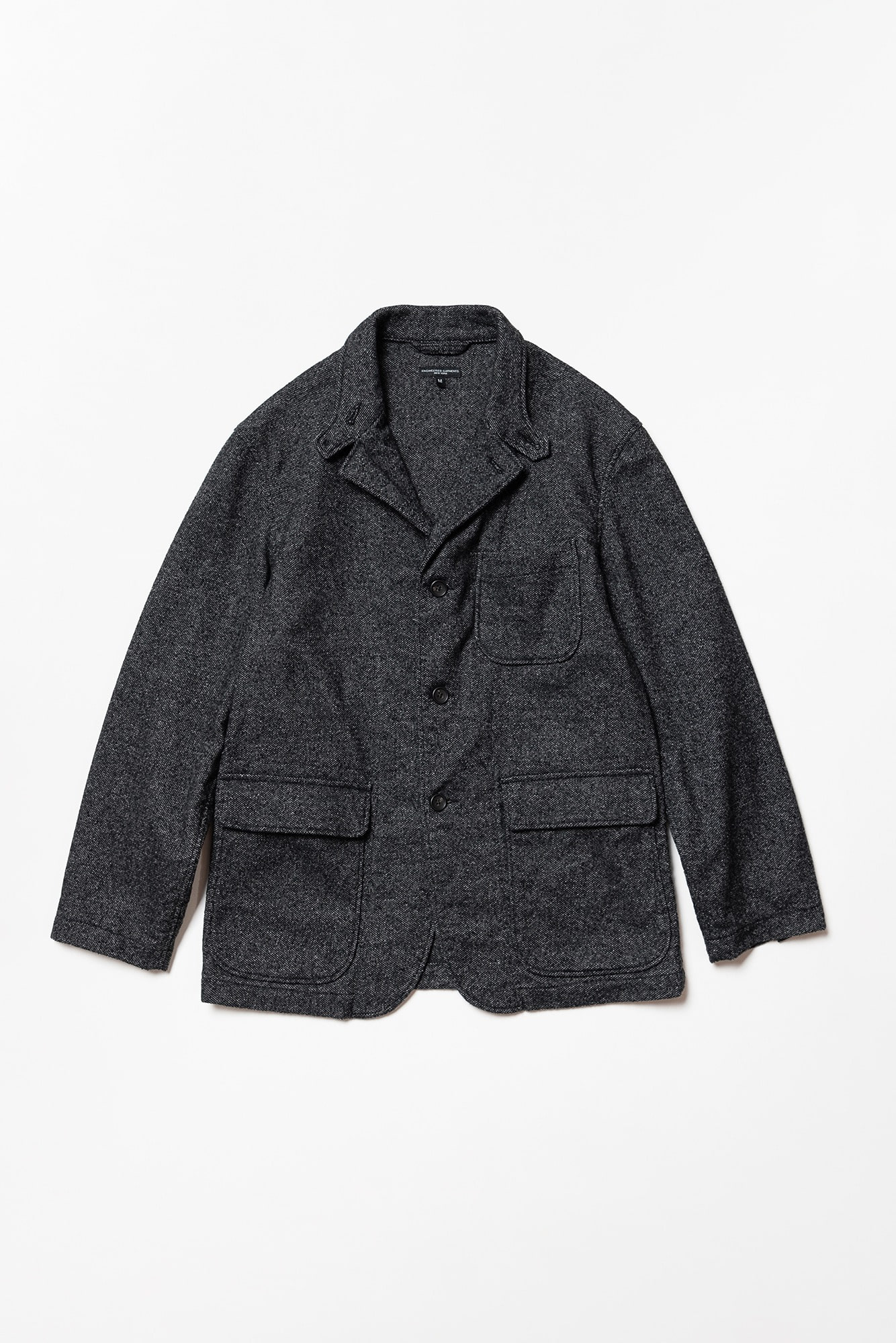 "ENGINEERED GARMENTS Loiter Jacket ""Grey Wool Blend Homespun"""
