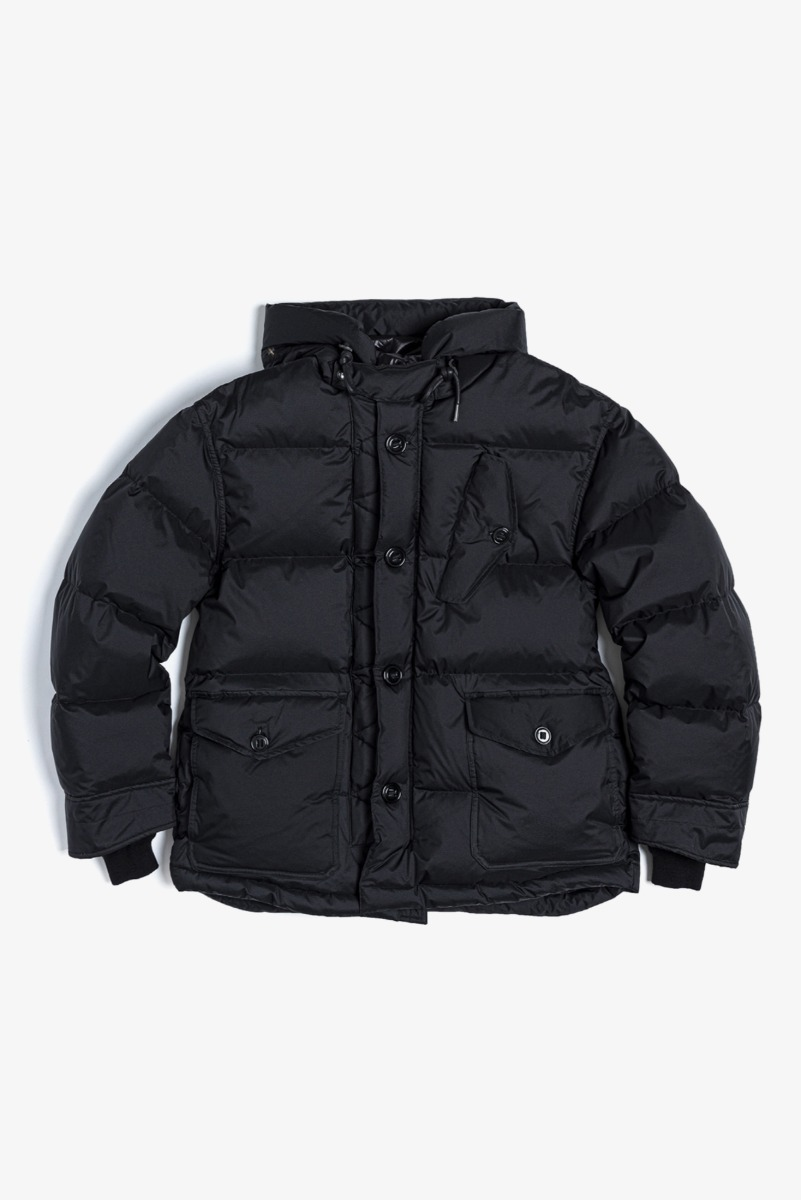 "EASTLOGUE Raf Down Parka ""Black"""