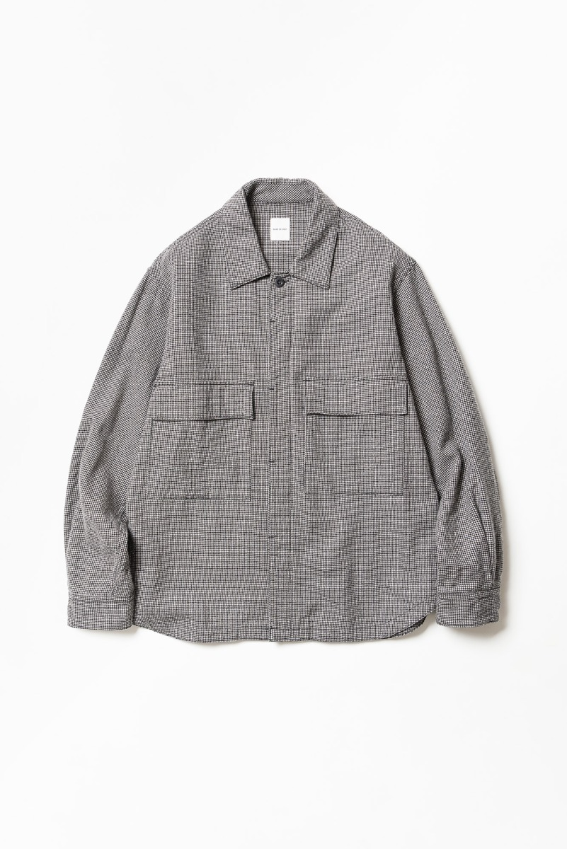 "SAGE DE CRET Military Shirt ""Off-White"""