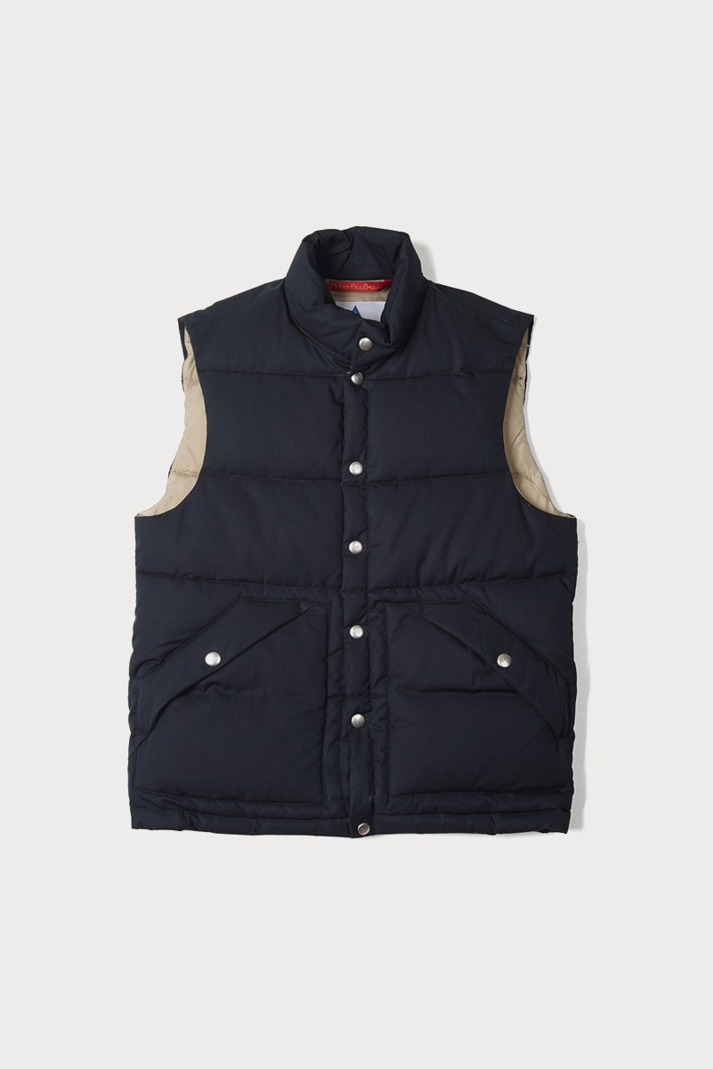 "HOLUBAR Deep Powder Vest ""Dark Blue"""