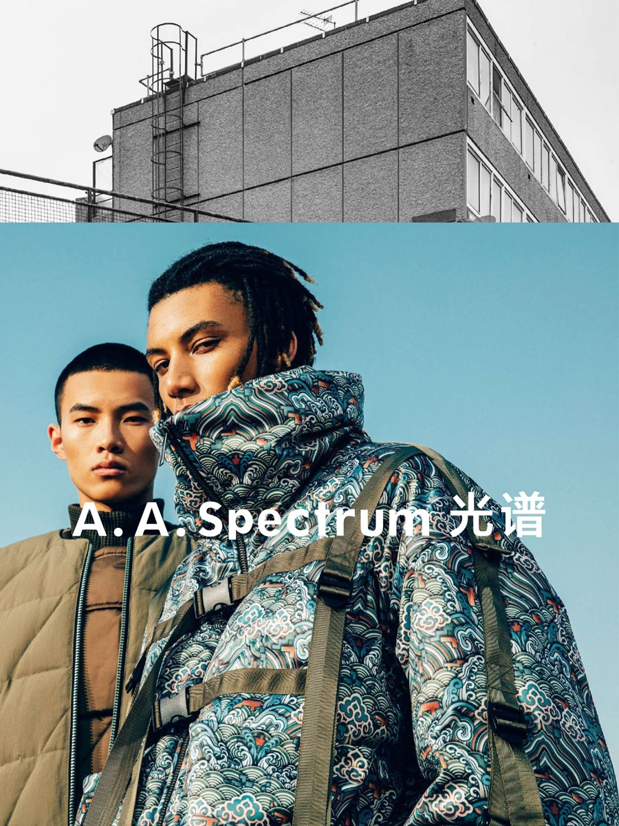 A.A Spectrum 20 F/W LOOKBOOK