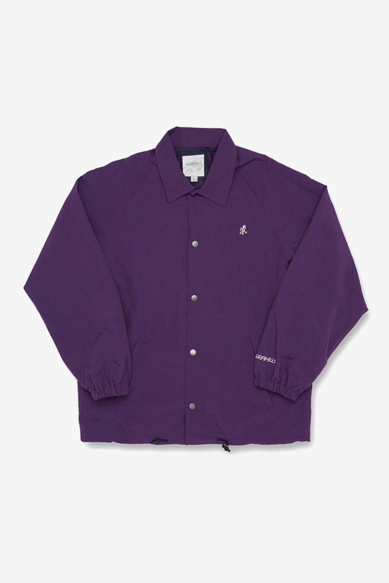 "GRAMICCI Shell Coaches Jacket ""Purple"""