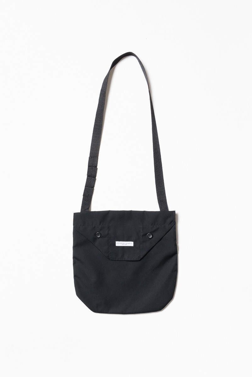 "ENGINEERED GARMENTS Shoulder Pouch ""Black PC Poplin"""