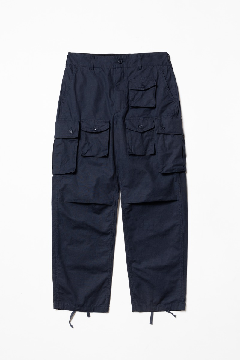 "ENGINEERED GARMENTS FA Pant ""Dk. Navy Cotton Ripstop"""