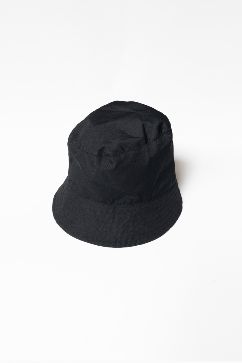 "ENGINEERED GARMENTS Bucket Hat ""Black PC Poplin"""