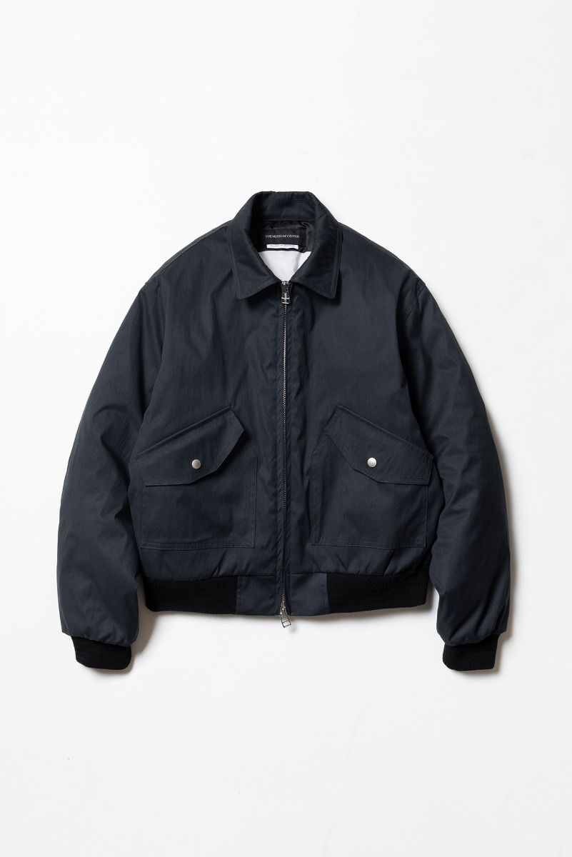 "THE MUSEUM VISITOR BERLIN Bomber Jacket ""Dark Grey"""