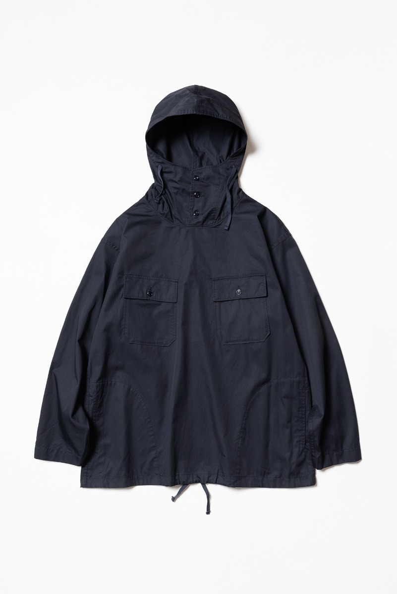 "ENGINEERED GARMENTS Cagoule Shirt ""Dk. Navy Highcount Twill"""