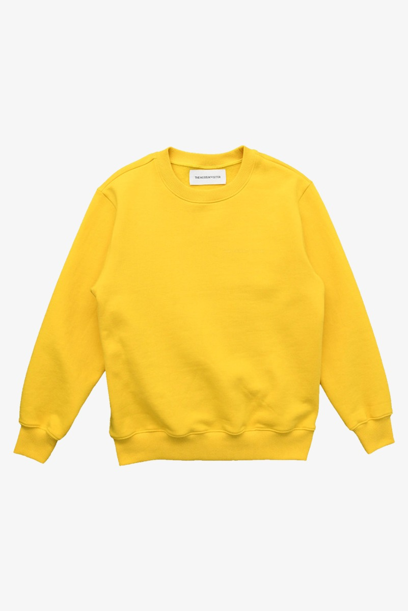 "THE MUSEUM VISITOR Modern Art Sweatshirts ""Yellow"""