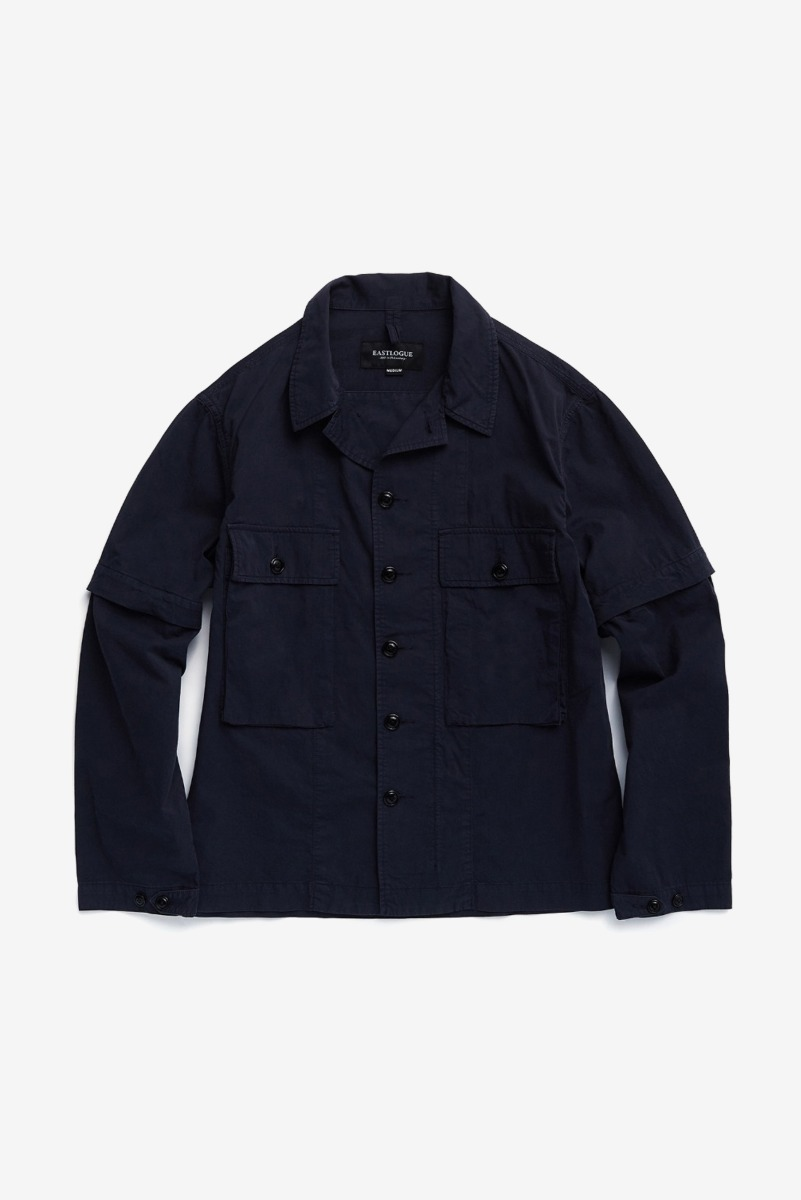 "EASTLOGUE KW M43 Jacket ""Dyed Navy"""