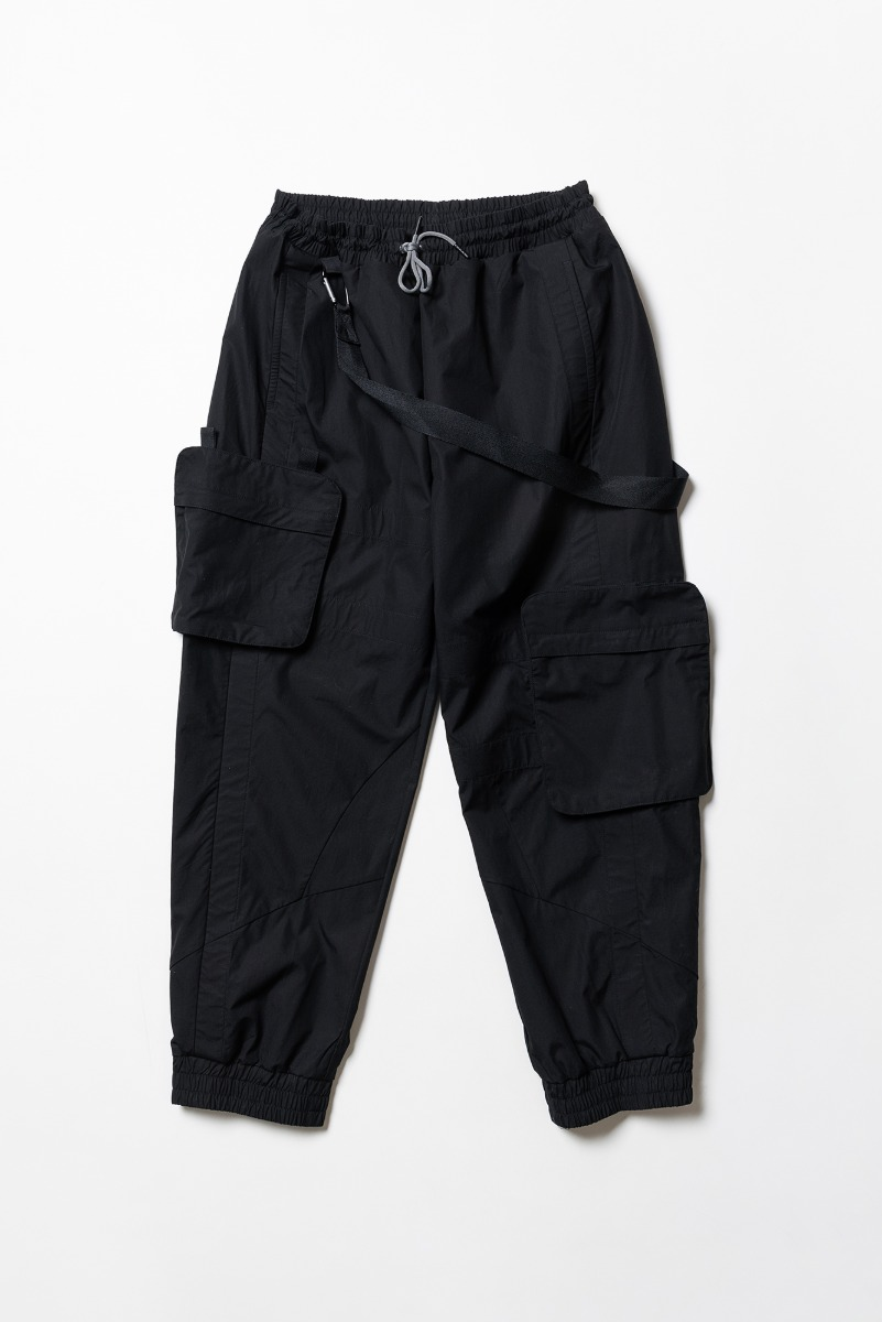 "A.A SPECTRUM Jersey Pants ""Screen Black"""