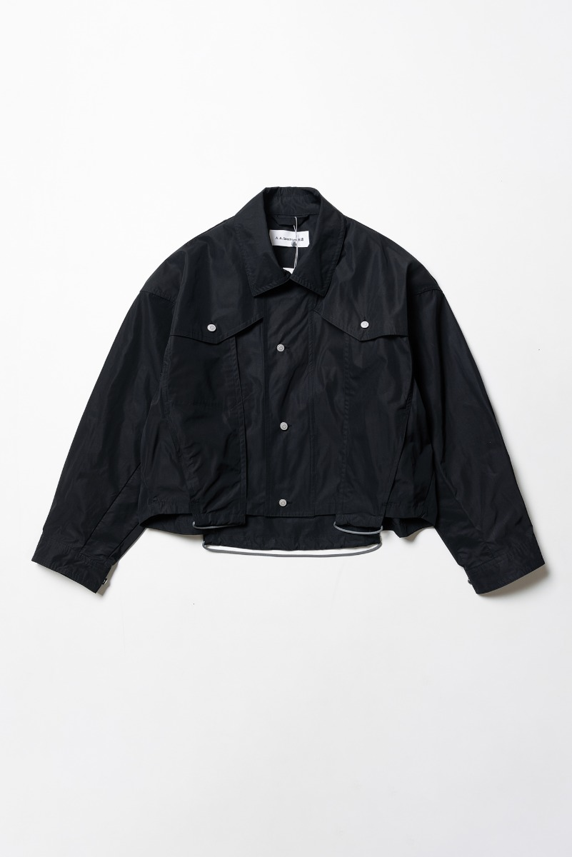 "A.A SPECTRUM Trucker Jacket ""Screen Black"""