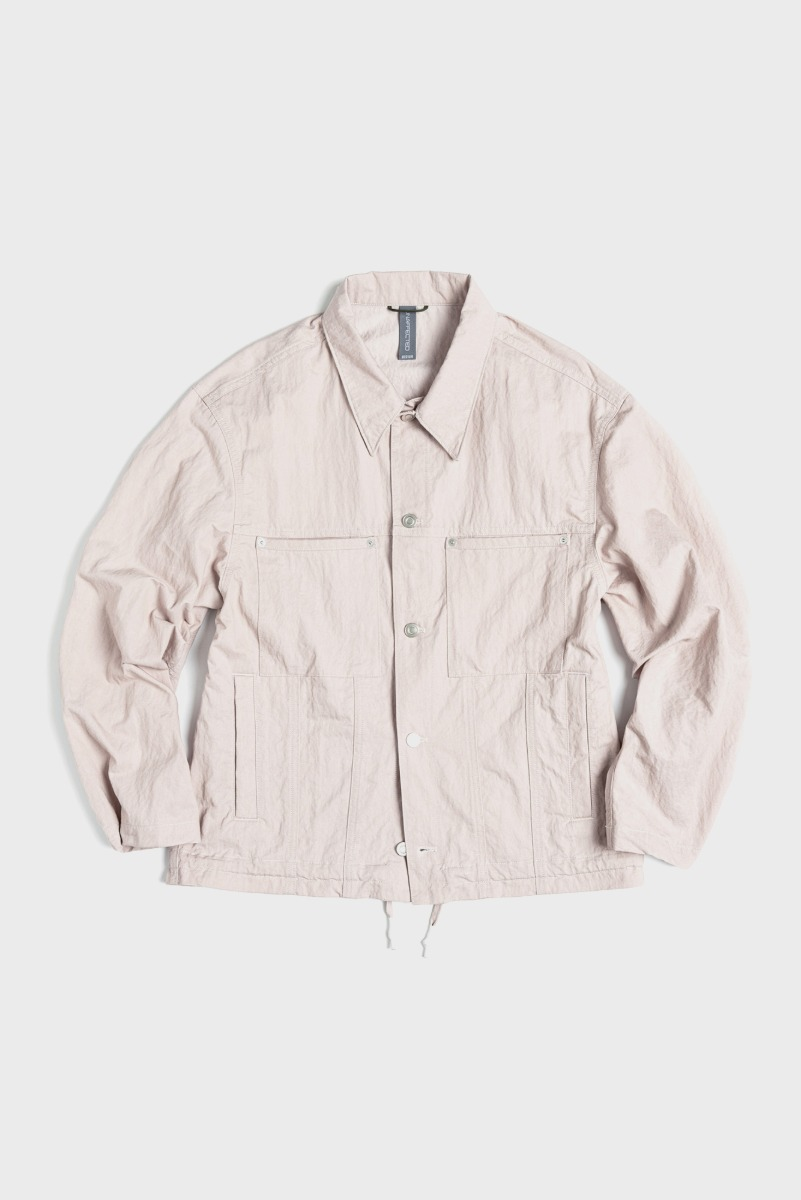 "UNAFFACTED Trucker Jacket ""Misty Pink"""