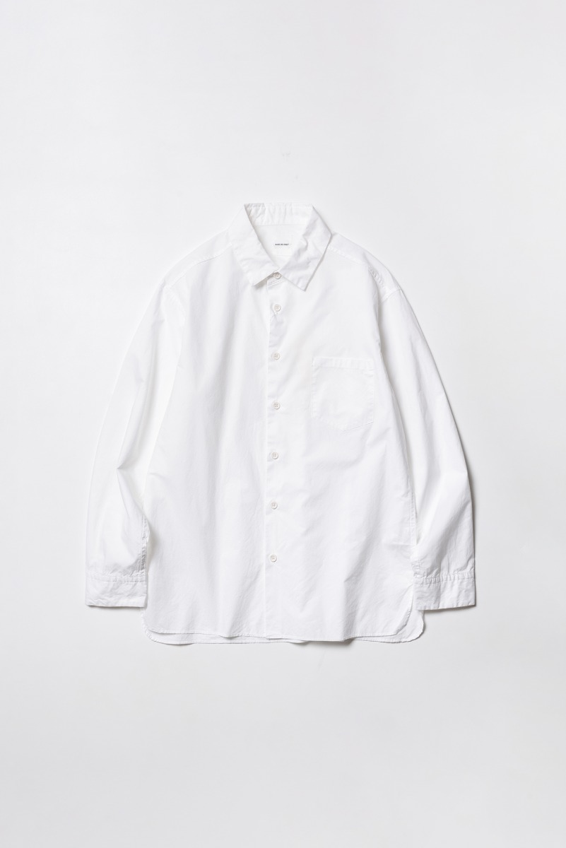 "SAGE DE CRET Regular collar Shirt ""Off White"""