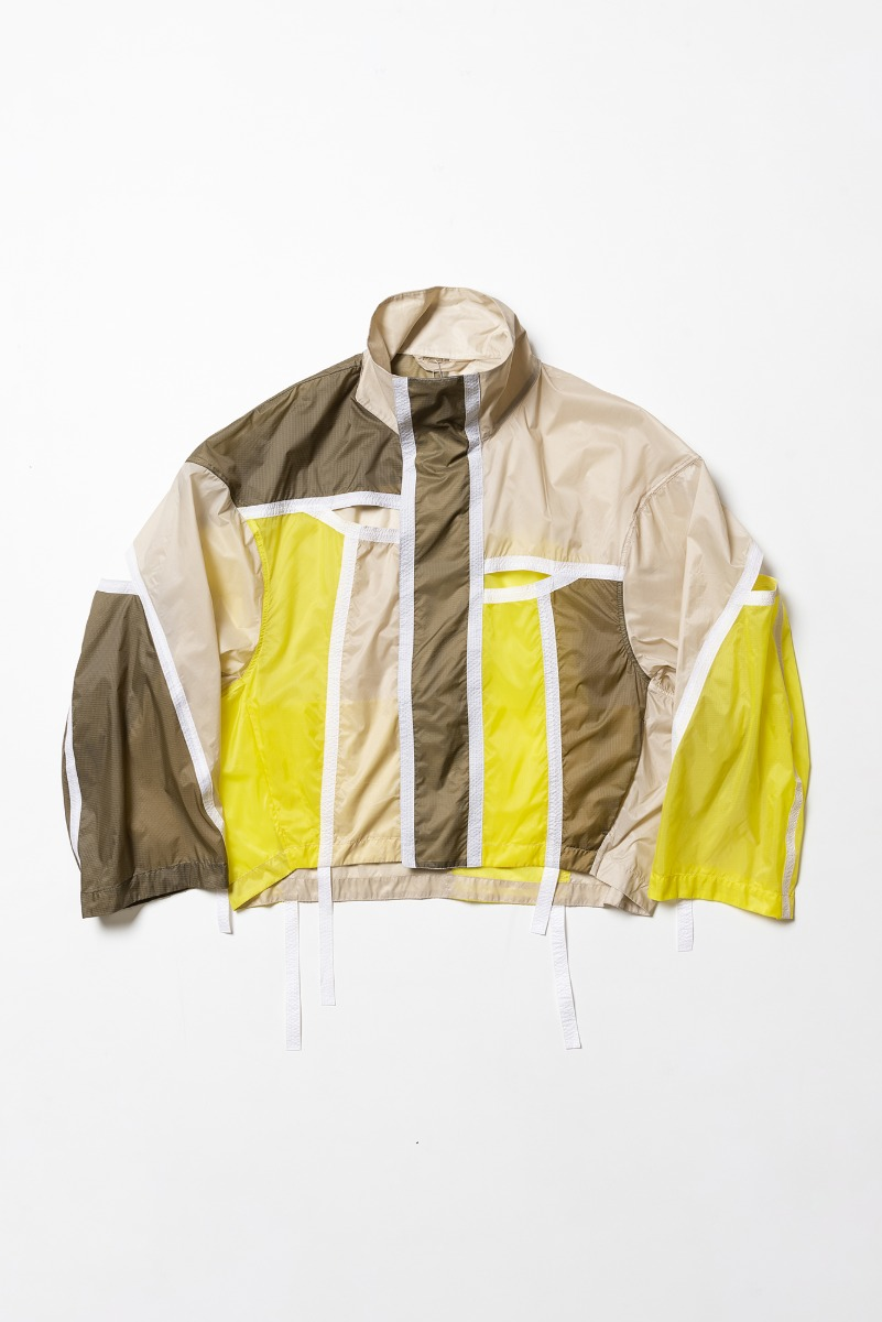 "A.A SPECTRUM Collage Jacket ""Acid Lemon"""