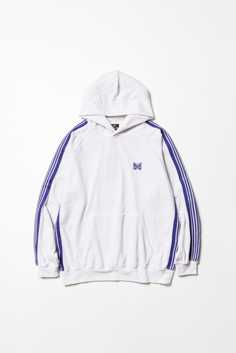 "Needles Track Hoody C/Pe Velour ""White"""