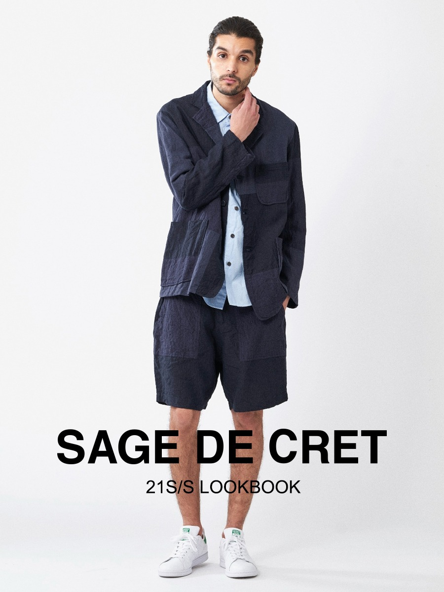 SAGE DE CRET 21 S/S LOOKBOOK