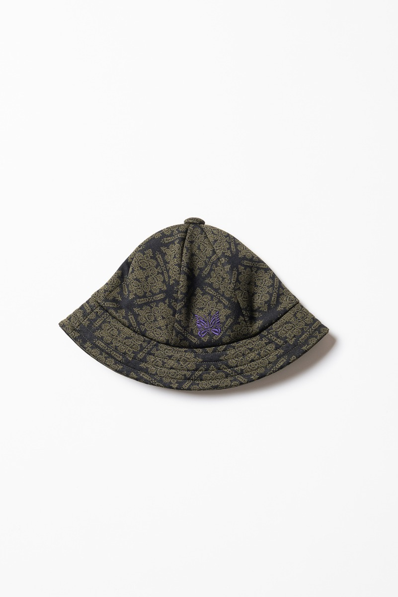 "Needles Bermuda Hat Poly Jq ""Damask"""