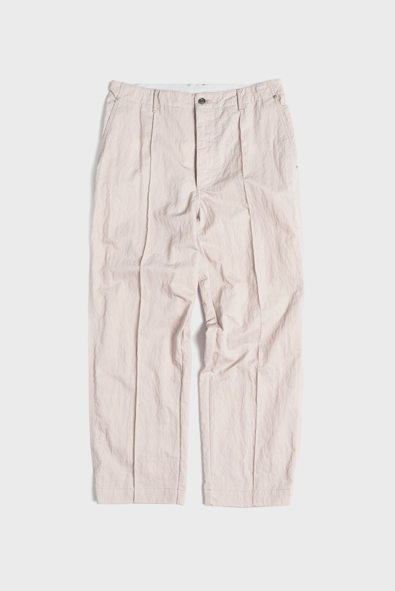 "UNAFFACTED Contrast Stitch Pants ""Misty Pink"""