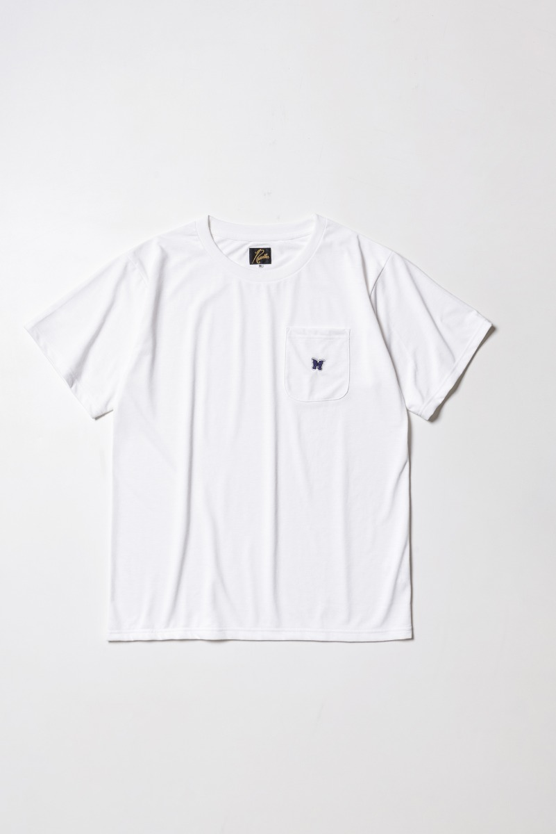 "Needles S/S Crew Neck Tee Poly Jersey ""White"""