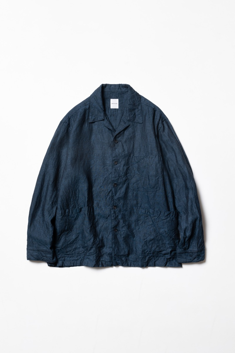 "SAGE DE CRET Shirt Jacket ""Ink Blue"""