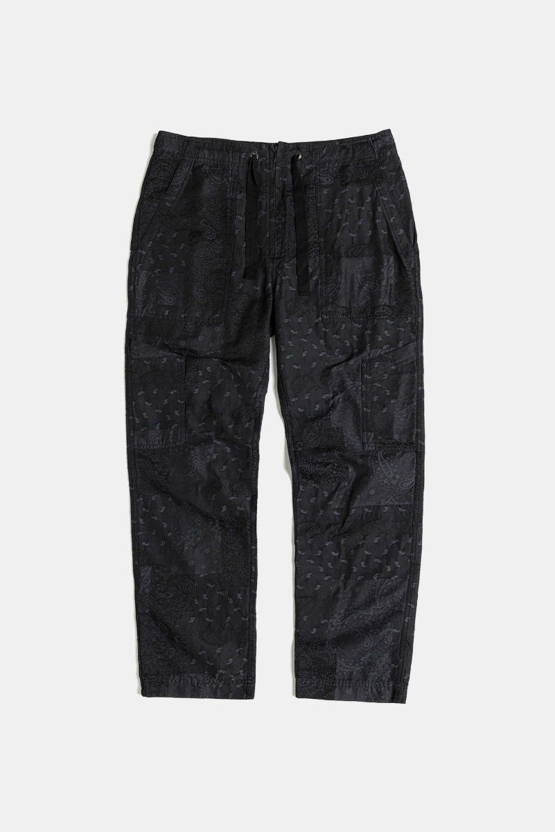 "EASTLOGUE Utilty Easy Pants ""Black Jacquard"""