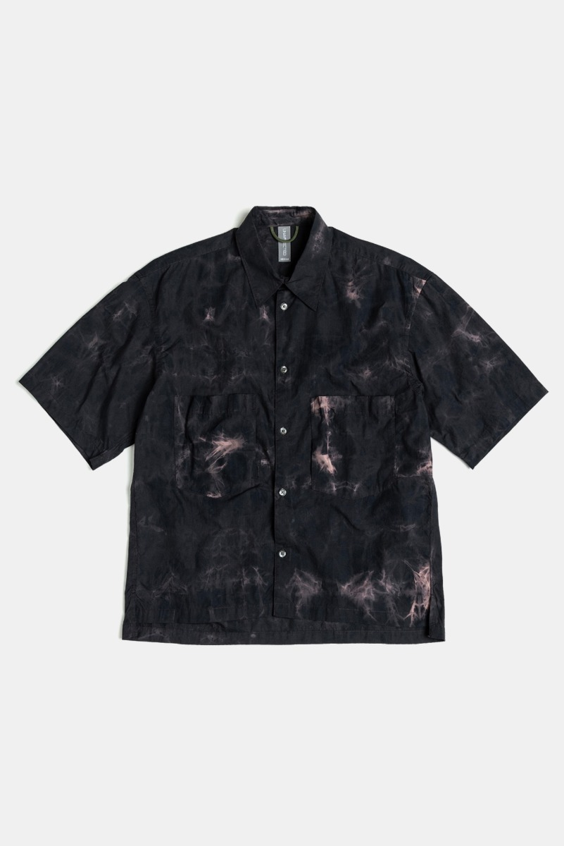 "UNAFFETED Oversized Half Shirt ""Thunder Navy"""
