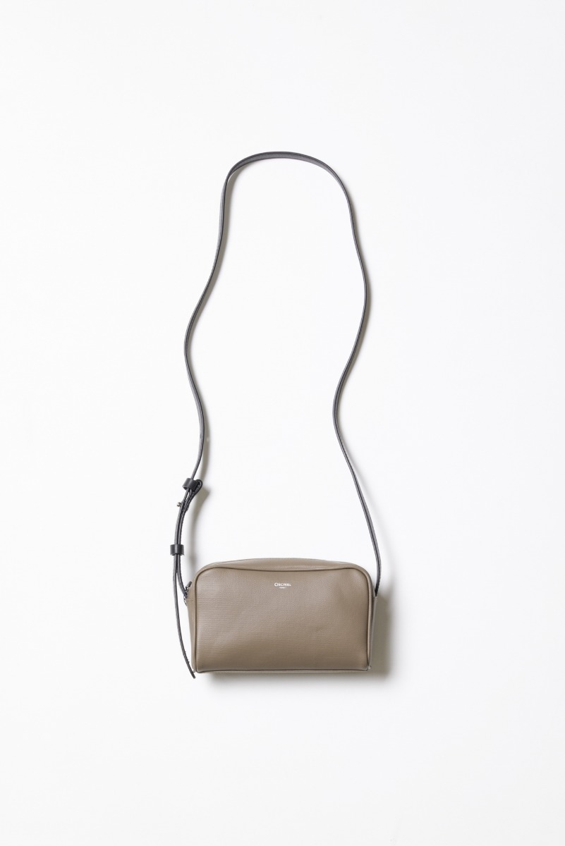 "ORCIVAL PVC Canvas Shoulder Bag ""Cocoa"""