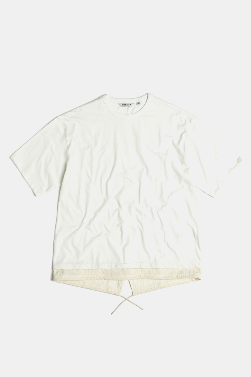 "EASTLOGUE Fishtale T-Shirt  ""Off White"""