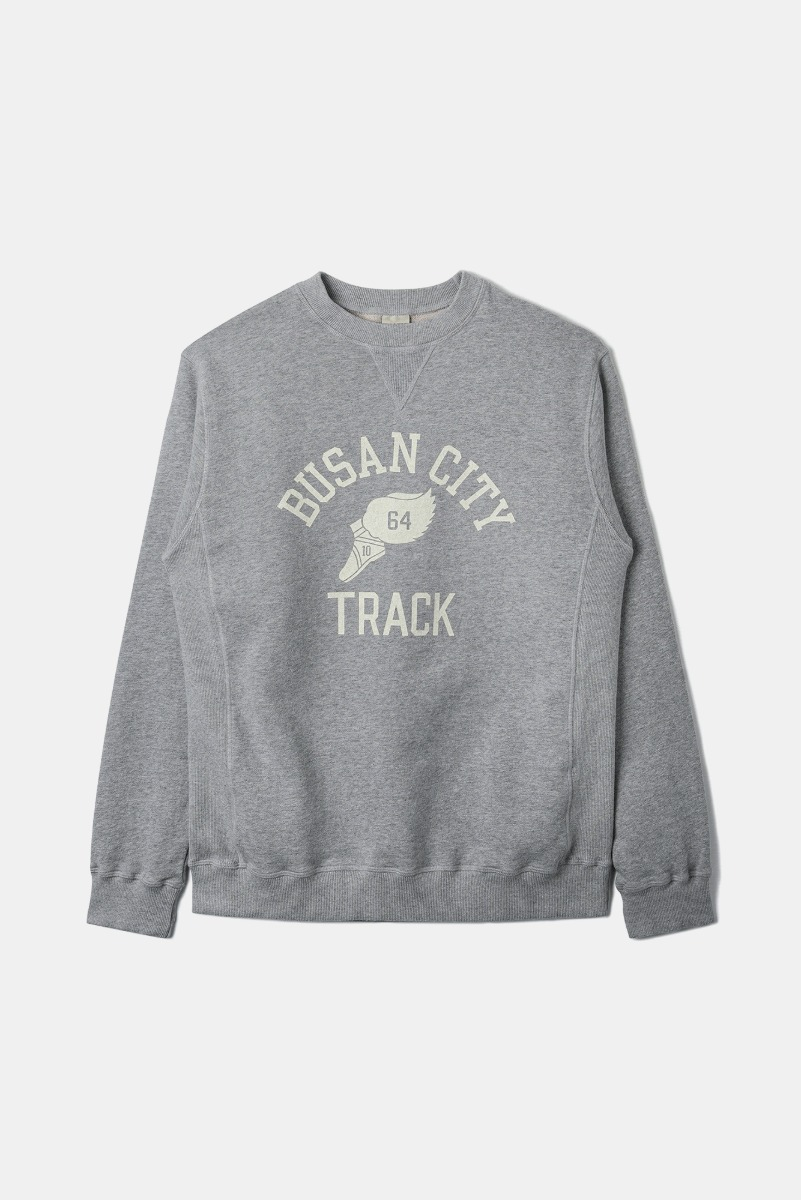 "BANTS OPD Cotton Crew Sweatshirt Busan City ""Grey"""