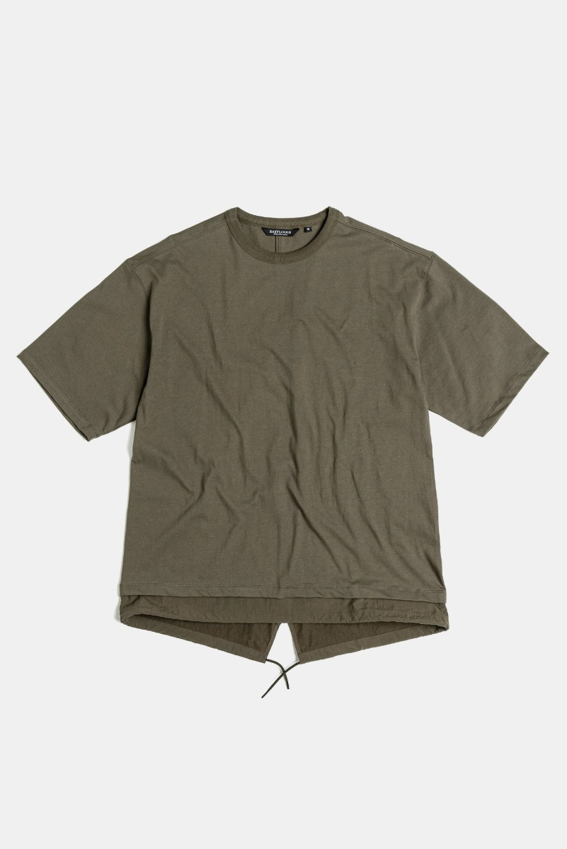 "EASTLOGUE Fishtale T-Shirt  ""Olive"""