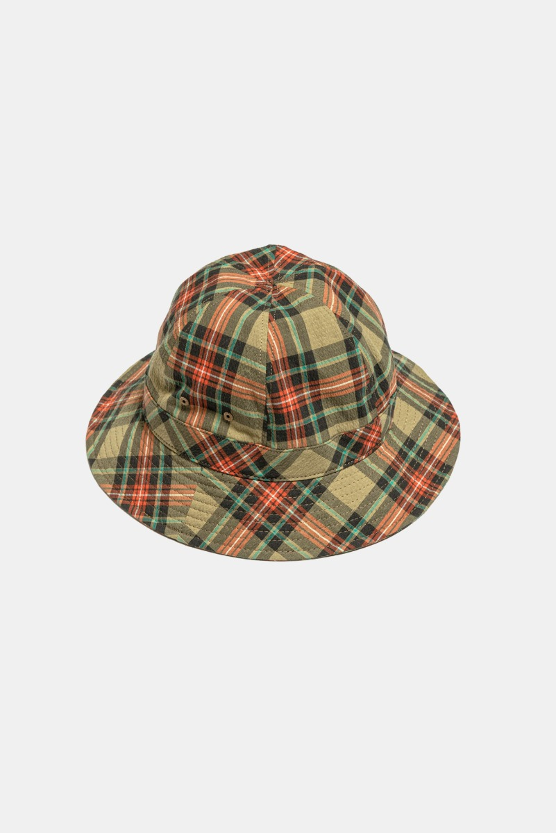 "EASTLOGUE Bucket  Hat ""Beige Multi Check"""