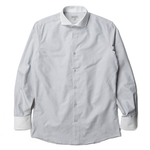 "BANTS Oxford Cutaway Collar - Cleric Shirt ""Grey"""