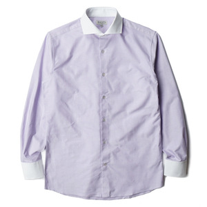 "BANTS Oxford Cutaway Collar - Cleric Shirt ""Lilac"""