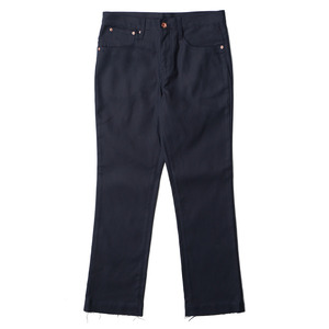 "OOPARTS Straight-Cut Oxford Dyed Jeans ""Navy"""