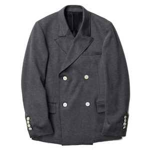"OOPARTS Bonded Double-Breasted Jacket ""Grey"""