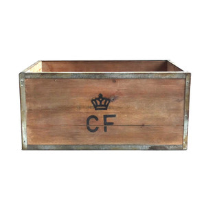 YMCL KY Storage Wood Box CF 'L' 'Natural'