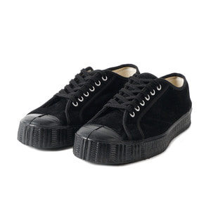 Army Low cut Black Suade/Black