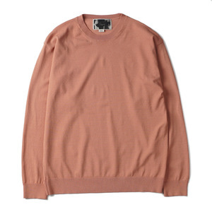 "OOPARTS OPT18SSTP05PK R/N Blend Crewneck Sweater ""Pink"""