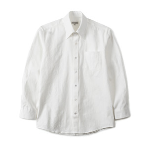 "BANTS GTB Crinkle Oxford Cotton B.D Shirt ""White"""