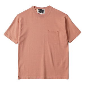 "OOPARTS OPT18SSTP04PK Patch Pocket Short Sleeve Sweater ""Pink"""