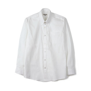 "BANTS BTS Solid Oxford Tab Collar Shirt ""White"""